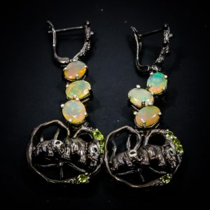 opal-earrings