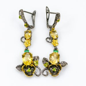 citrine-earrings