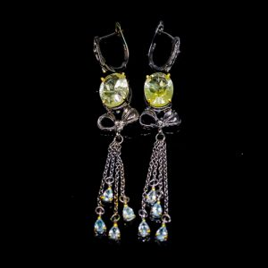 quartz-earrings