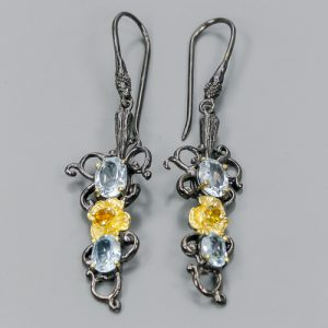 Topaz-earrings